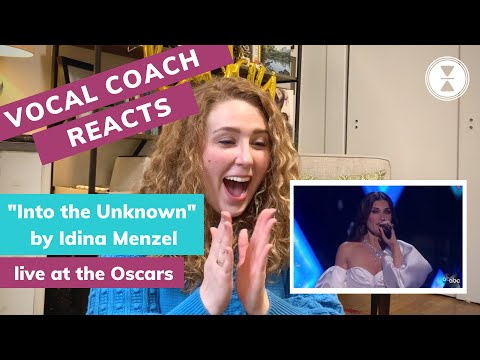 """Into the Unknown"" live at the Oscars 2020, VOCAL COACH REACTION"