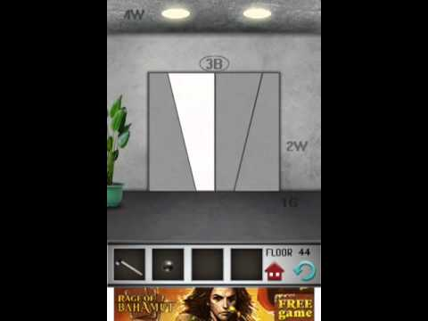 100 floors level 44 floor 44 solution youtube for 100 floors 17th floor answer