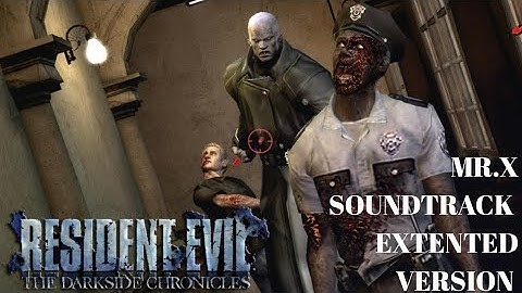 resident evil darkside chronicles ost  mrx theme  extented version