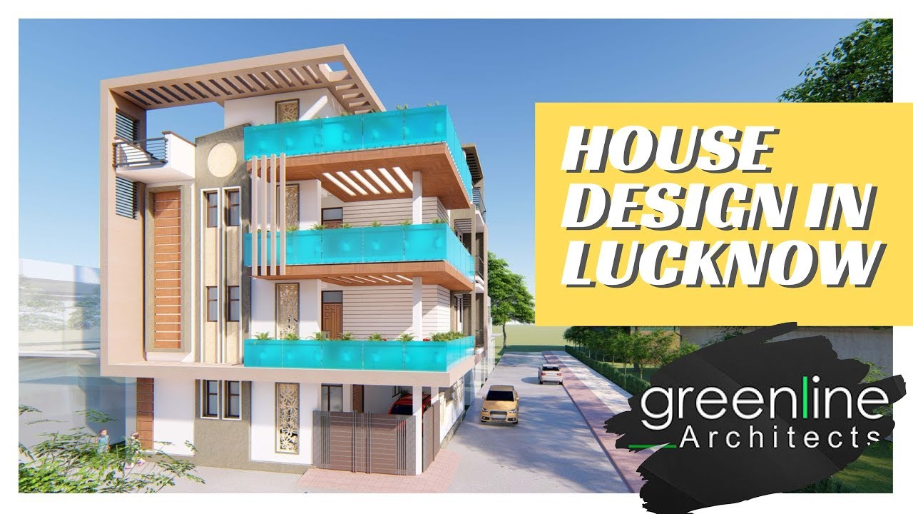 New House Design by Greenline Architects in Lucknow