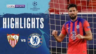 西維爾 0:4 車路士 | Champions League 20/21 Match Highlights HK