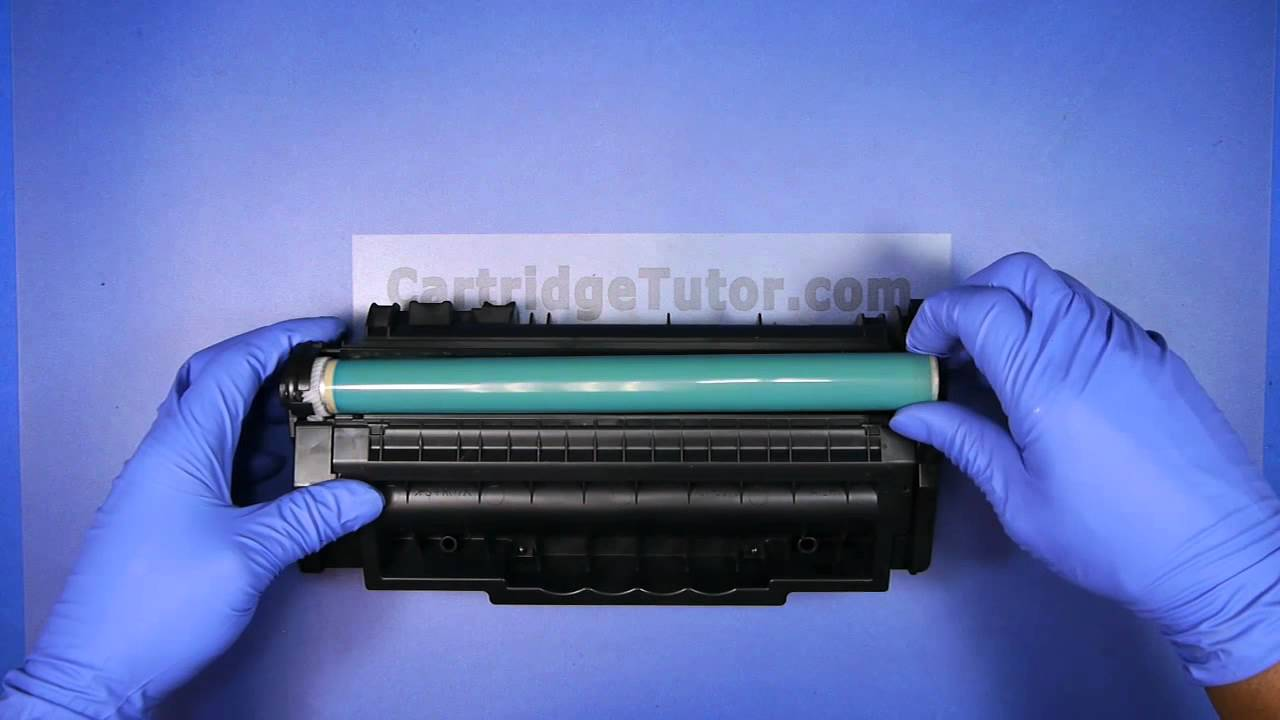 How To Refill Hp Q7553a 53a Toner Laserjet P2014 P2014n
