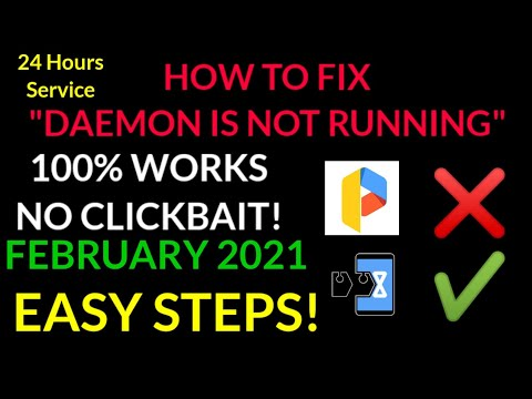 HOW TO FIX GAME GUARDIAN DAEMON IS NOT RUNNING! 100% WORKS! FEB 2021(Read desc)
