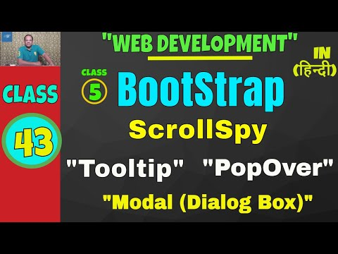 Tooltip modal bootstrap
