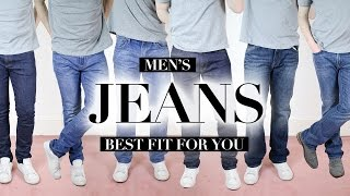Are You Wearing The Right Fit of Jeans? | Men