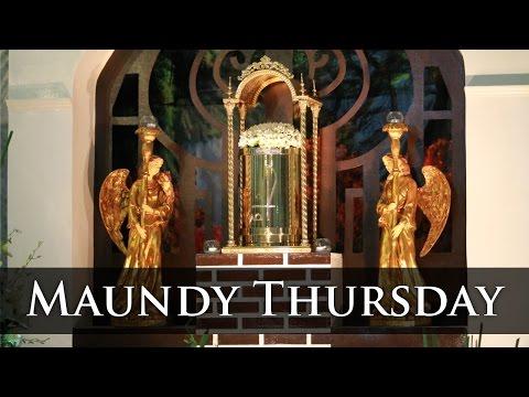 Holy Week 2016 : Maundy Thursday