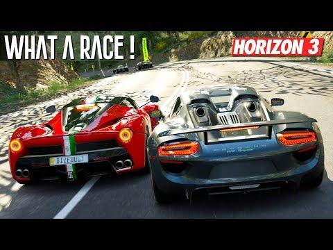 Forza Horizon 3 Ferrari LaFerrari Goliath Race