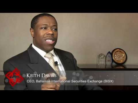 Bahamas International Securities Exchange CEO Keith Davies on listings & volume on the BISX