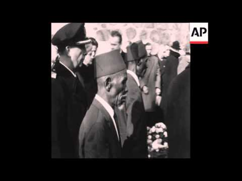 CAN125 FUNERAL OF GERMAN GENERAL PAUL VON LETTOW-VORBECK