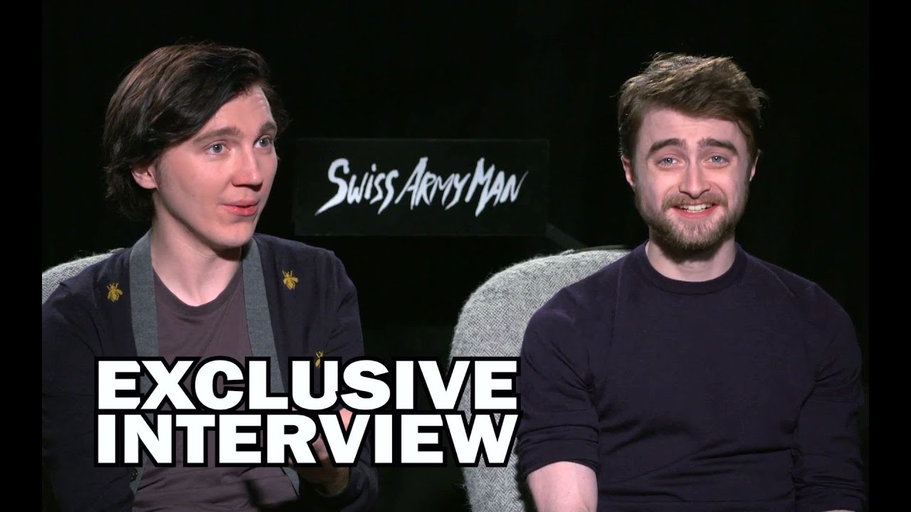 Download Daniel Radcliffe & Paul Dano Exclusive Interview - SWISS ARMY MAN (JoBlo.com)