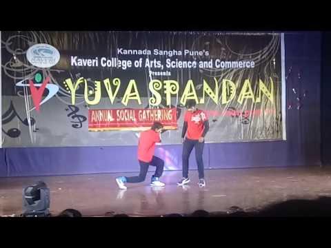 Robotic lavani, popping, hich ki, dance, duet