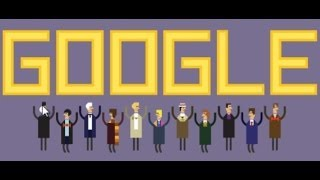 50th Anniversary Of Doctor Who - Google Doodle