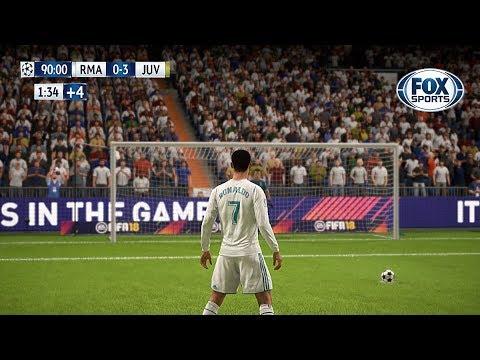 Recreación Real Madrid 1-3 Juventus - UEFA Champions League 2018