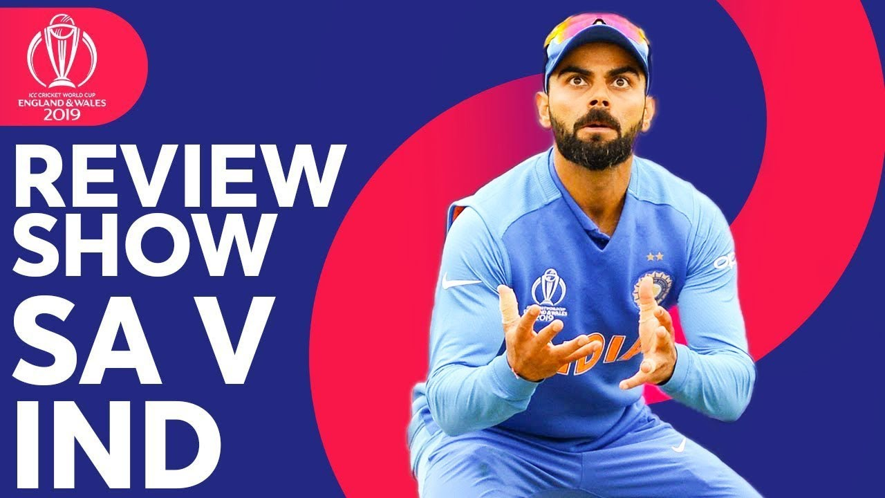 The Review - South Africa vs. India | India is Victorious! | ICC Cricket World Cup 2019
