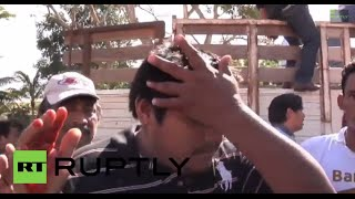 Mexico: BLOODY stick fight breaks out among Campeche beekeepers
