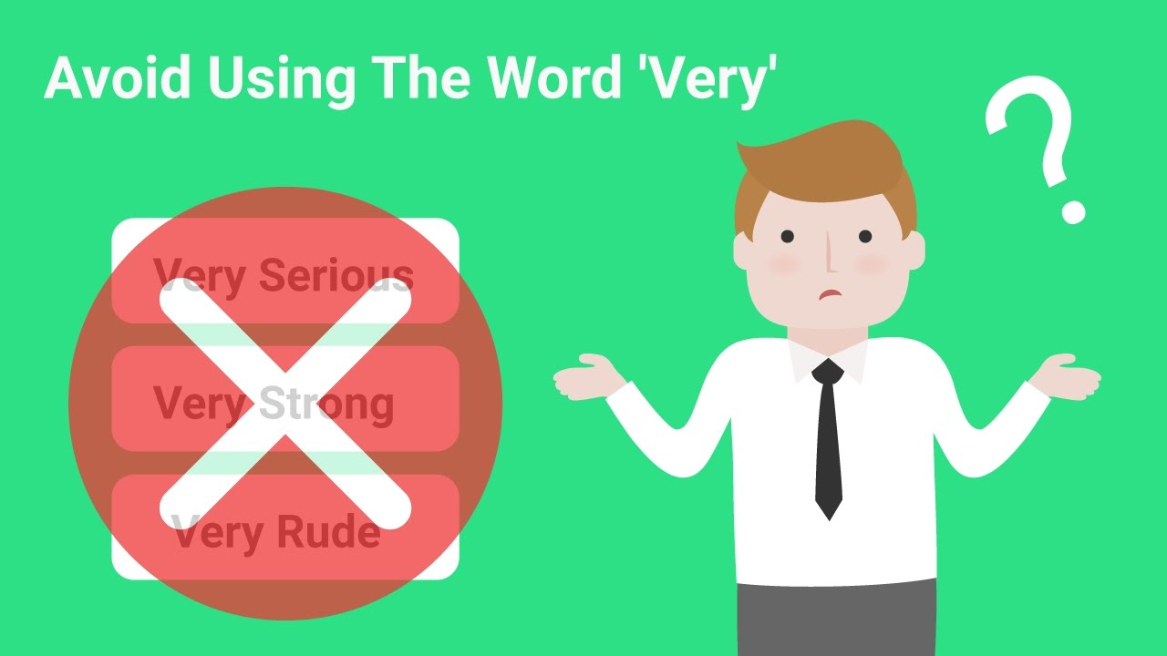 30 English Words to Use Instead of 'VERY'