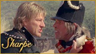 Sharpe Fights Rude English Soldier | Sharpe