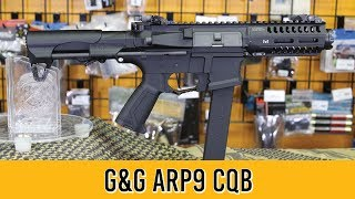 G&G CM16 ARP9 Airsoft Gun Quick Review