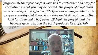 Lesson 26  James 5:15-18  December 22, 2020