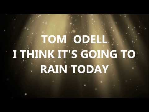 Tom Odell I Think It's Going To Rain Today (Lyric Video) Album Version