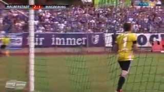 Germania Halberstadt - FCM 2. Spieltag 9.8.14
