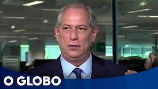 Baixar Ciro Gomes: 'No meu governo, militar não fala em política'