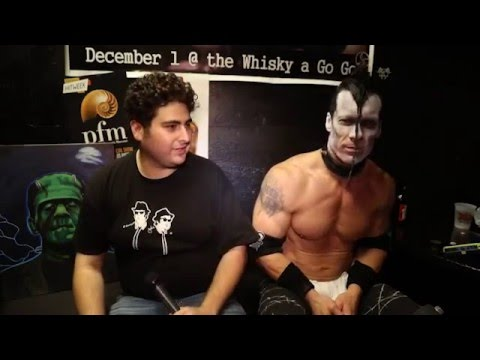 DOYLE interviewed by ALEX KLUFT and CRAZY CRAIG at the Whisky after the Mad Monster show