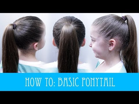download HOW TO DO A BASIC HIGH PONYTAIL! ��
