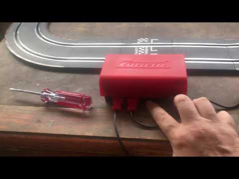 Carrera slot car track, take 2
