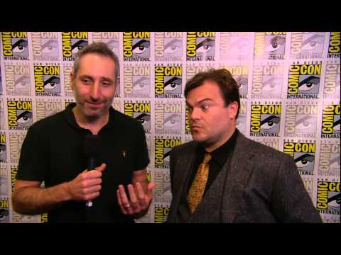 Goosebumps (2015) Comic-Con 2014: Jack Black And Rob Letterman Interview (HD) Jack Black, Amy Ryan