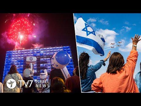 Israel Celebrates 73' Independence;US ready to facilitate Israel-Lebanon talks TV7 Israel News 15.04