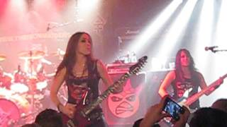 "THE IRON MAIDENS ""WASTED YEARS"" VAMP'D LAS VEGAS 2-27-16"