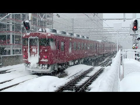 JR金沢駅大雪 Kanazawa Station Winter 2018 Heavy Snowfall