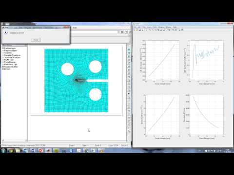 Crack Propagation And Lifetime Estimation In ANSYS Mechanical APDL 2