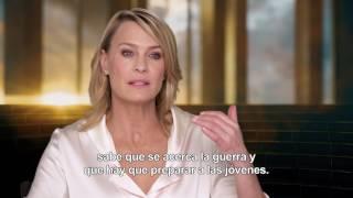 Entrevista a Robin Wright por Wonder Woman | Estreno 23 de Junio.
