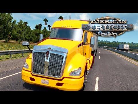 American Truck Simulator (Hard Economy) #44 - ROLLING OVER 10000 MILES   Monday Week 13