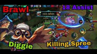 Mobile Legends - Brawl 『Diggie』   Gameplay   Senju Gaming  