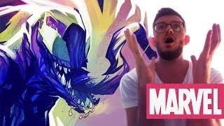 VENOM: Ma Première Cover MARVEL - NIKHO