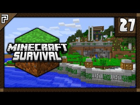 💎 Lucky Pick, Concrete Maker & The Riverside! | Let's Play Minecraft Survival 1.12