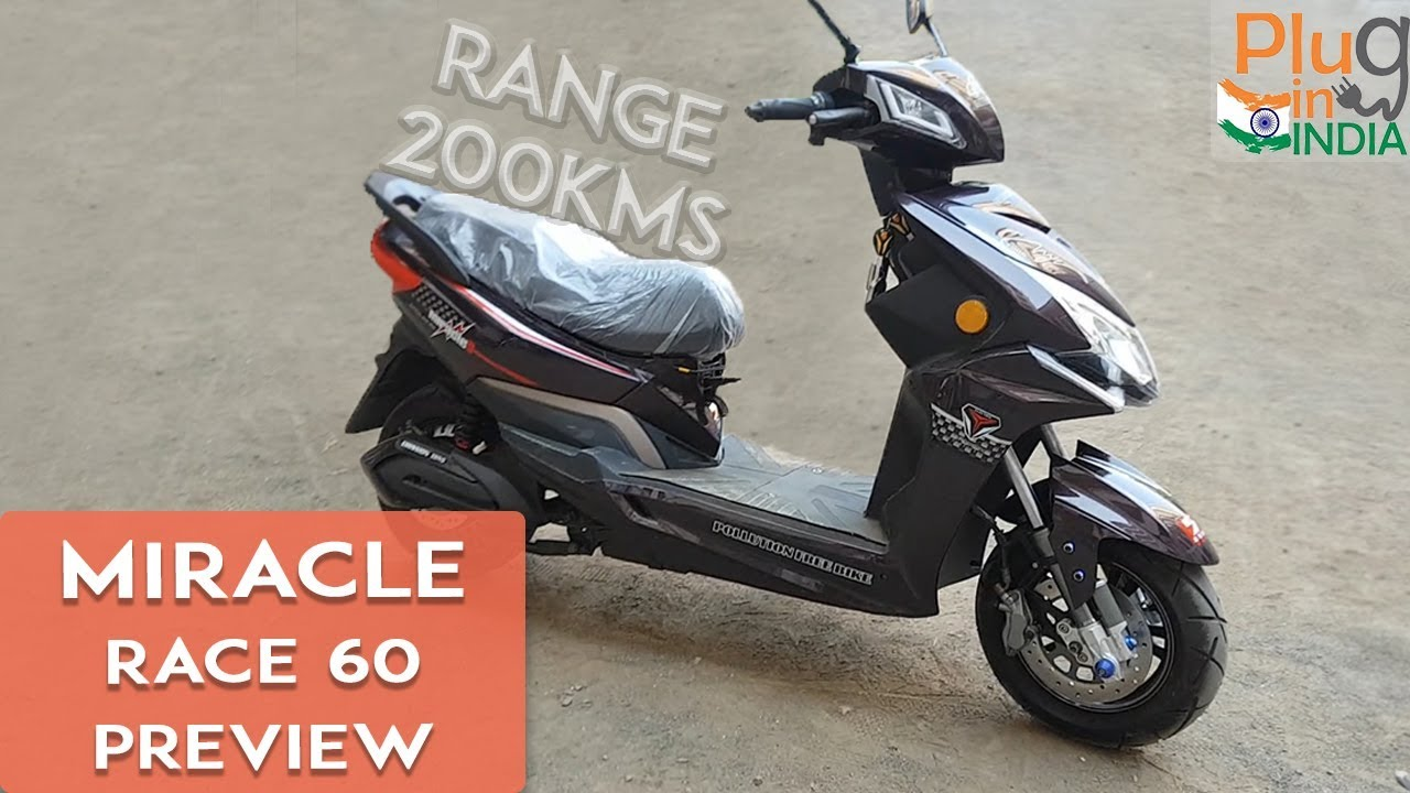 Miracle Race 60 Electric Scooter Sneak K