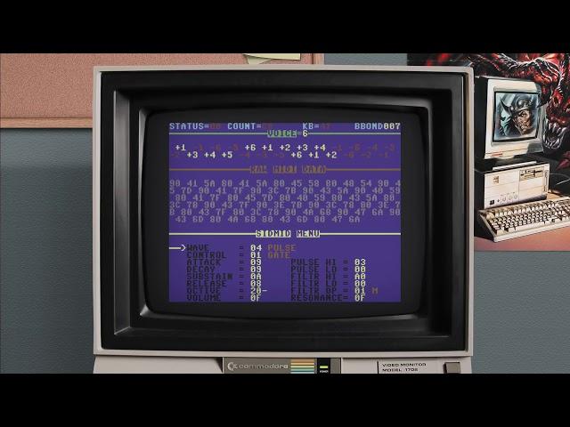 MiSTer FPGA - C64 core - Bad Apple Demo - DE10 Nano