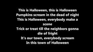 This is halloween   Panic at the disco  LYRICS