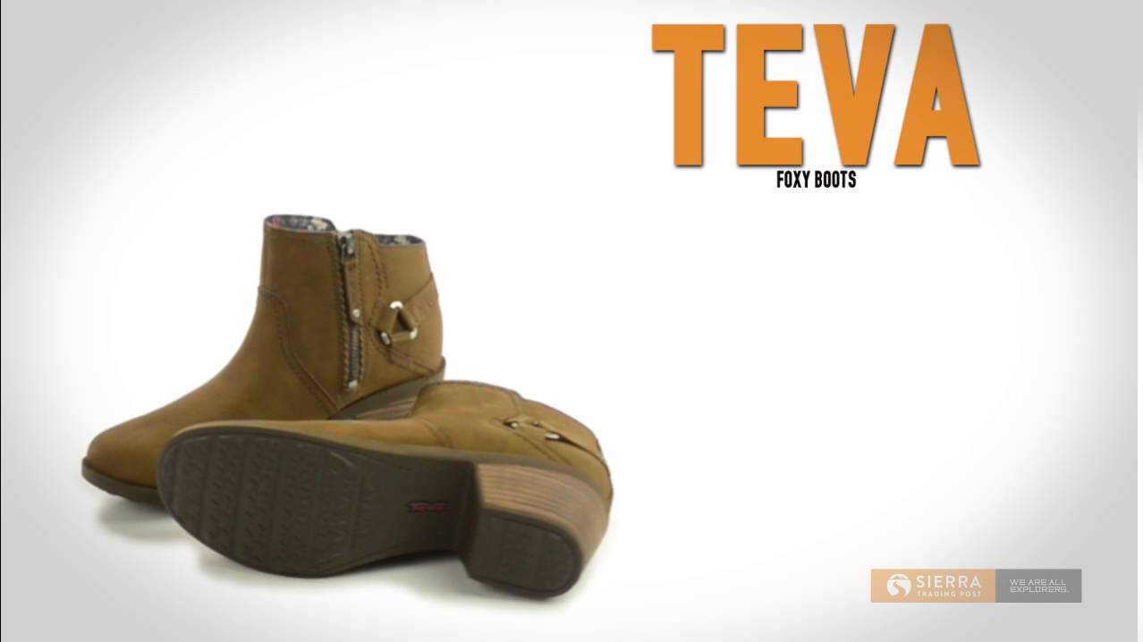 75007f0ac Teva Foxy Boots (For Women) - YouTube