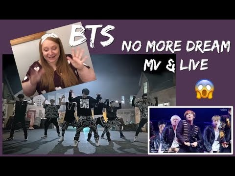 Reacting To BTS - No More Dream MV & Live Performance With Dance Break!