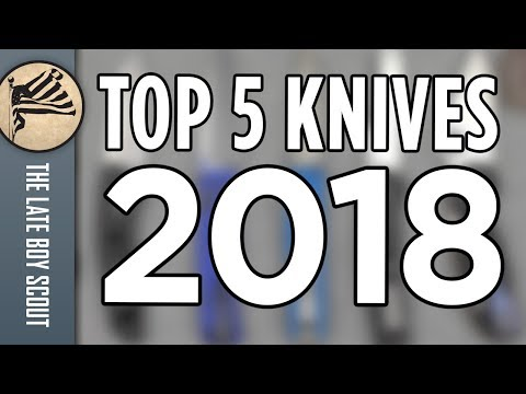 Top 5 Knives of 2018