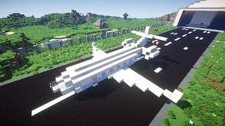 Самолёт в Minecraft.(Карта для версии 1.8: https://yadi.sk/d/1senEOlwcJxky Наши текстуры: http://vk.com/doc7799889_263022075., 2014-10-27T09:24:35.000Z)