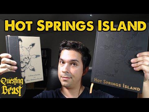 Hot Springs Island: OSR DnD Book Review