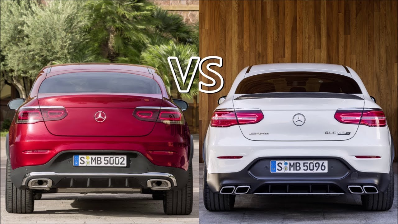 2020 Mercedes GLC Coupe Vs 2019 AMG GLC 63 S Coupe YouTube