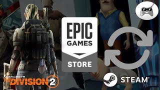 EPIC GAMES STORE copia a STEAM y le roba THE DIVISION 2 + SEKIRO exploración y libertad