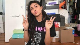 ANOTHER HUGE PR UNBOXING + mini haul :) | Roxette Arisa Vlogs